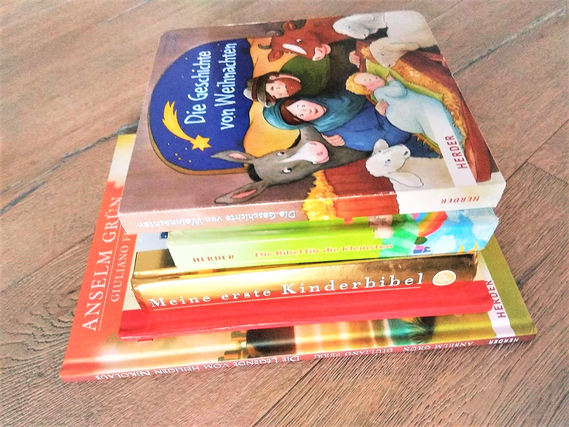 Weihnachtsbücher, Weihnachtsgeschichte, Bibel, Kinderbibel, Buchtipp, Kinderbücher, Anselm Grün, Herder Verlag, Puddingklecks, Mamablog