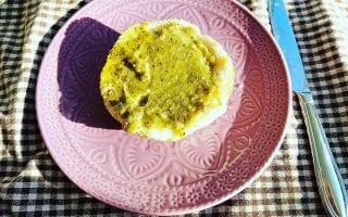 Zuckerfreie Kiwimarmelade mit Chiasamen, ein veganes und zuckerfreies Rezept bei Puddingklecks