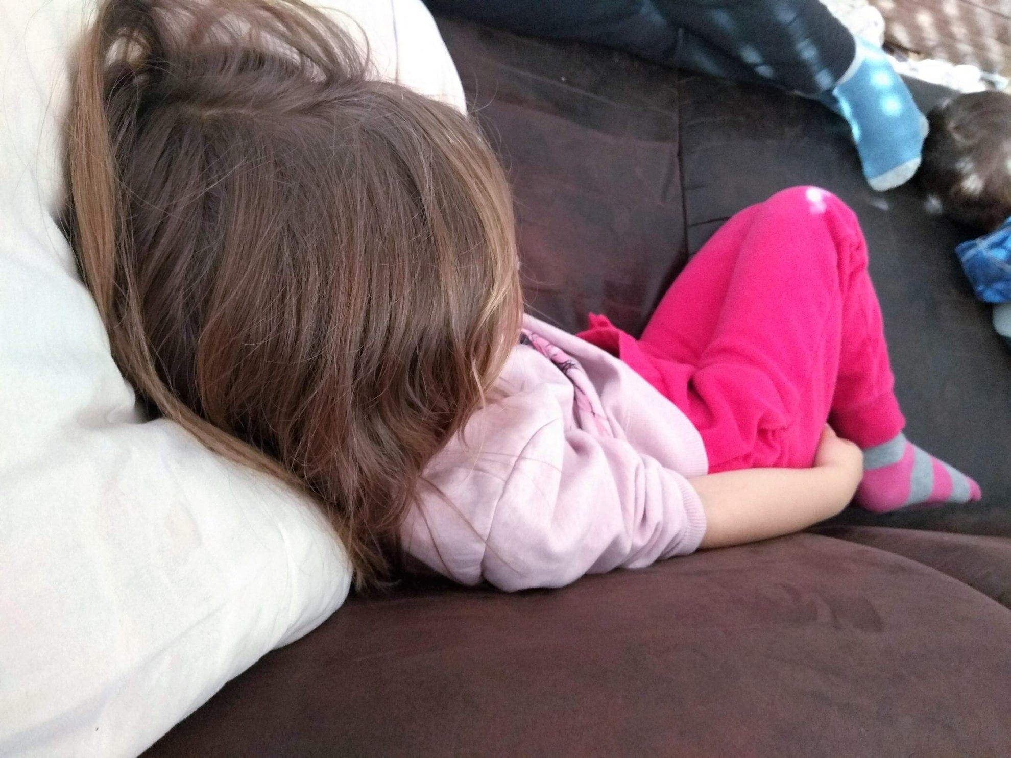 Die Prinzessin auf dem Sofa beim Sonntagsmaerchen, Familienblog Puddingklecks, WIB