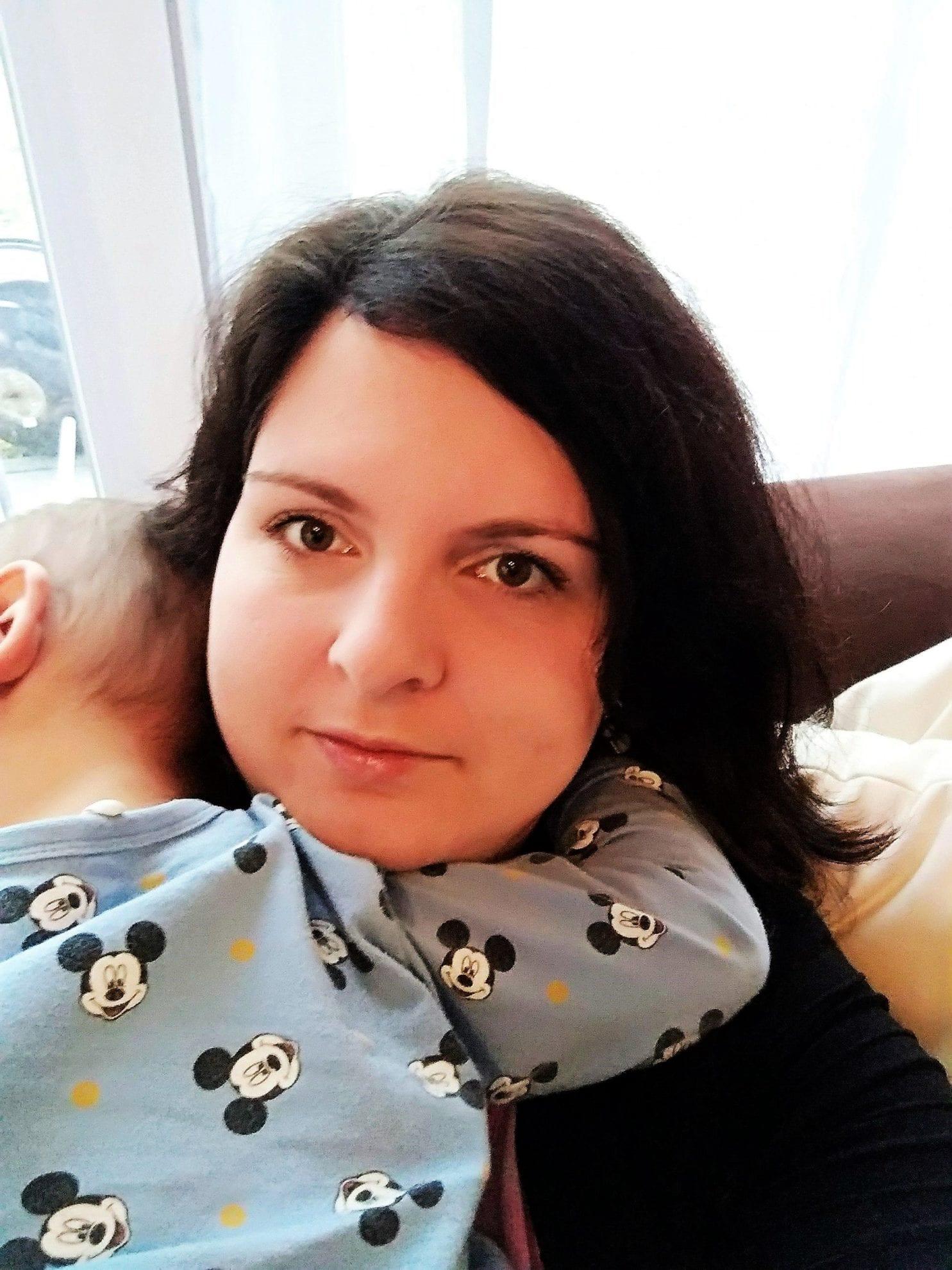 WMDEDGT 2/18, Julie vom Blog Puddingklecks kuschelt mit dem fiebrigen Kleinkind