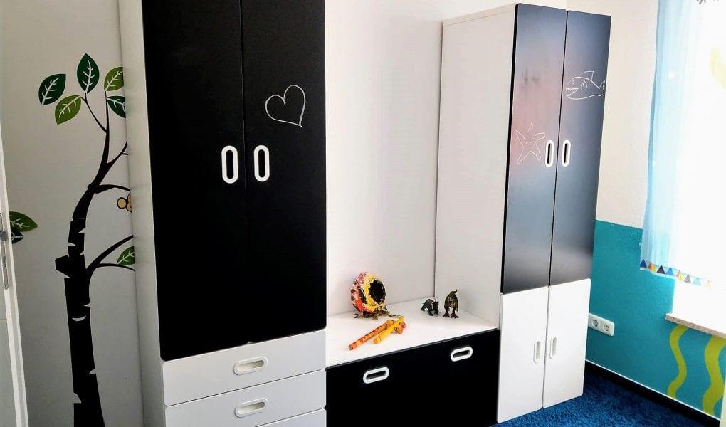 Ein Neuer Kleiderschrank Furs Kinderzimmer Wenn Der Lack Wieder