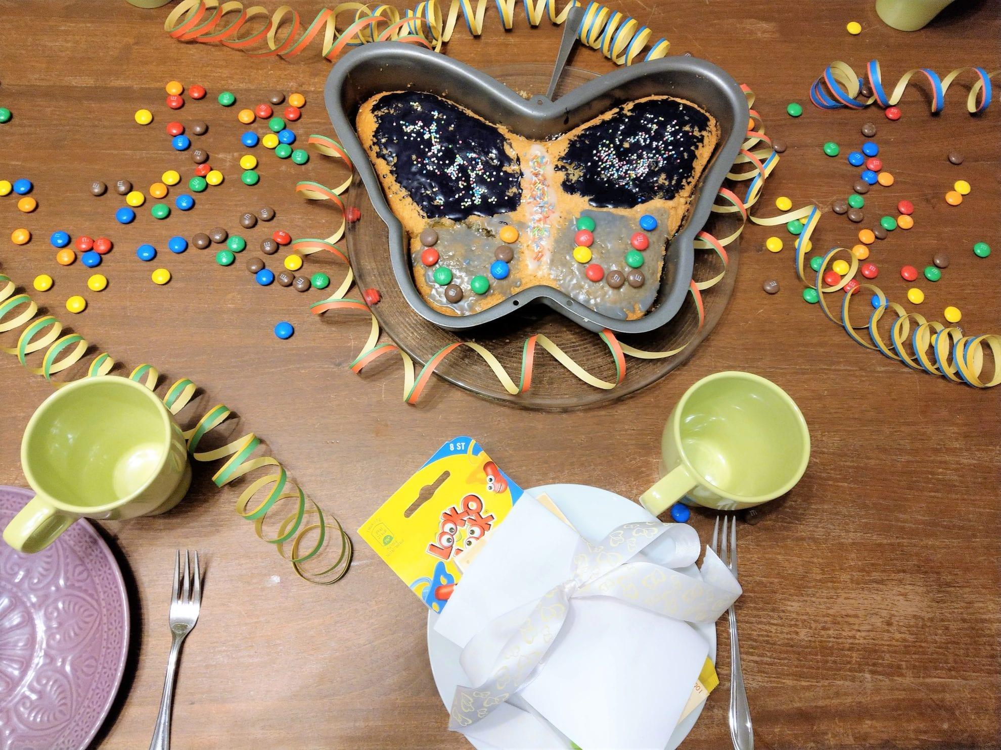 Lieblingsmoment für mich alleine: Der gedeckte Geburtstagstisch für den großen Tag des Geburtstagskindes