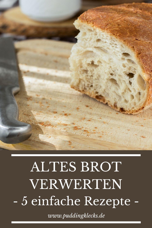 Altes Brot gehört nicht in die Tonne. Ich zeige dir 5 einfache Rezepte & Tricks, wie du altes & trockenes Brot verwerten und wieder schmackhaft machen kannst.